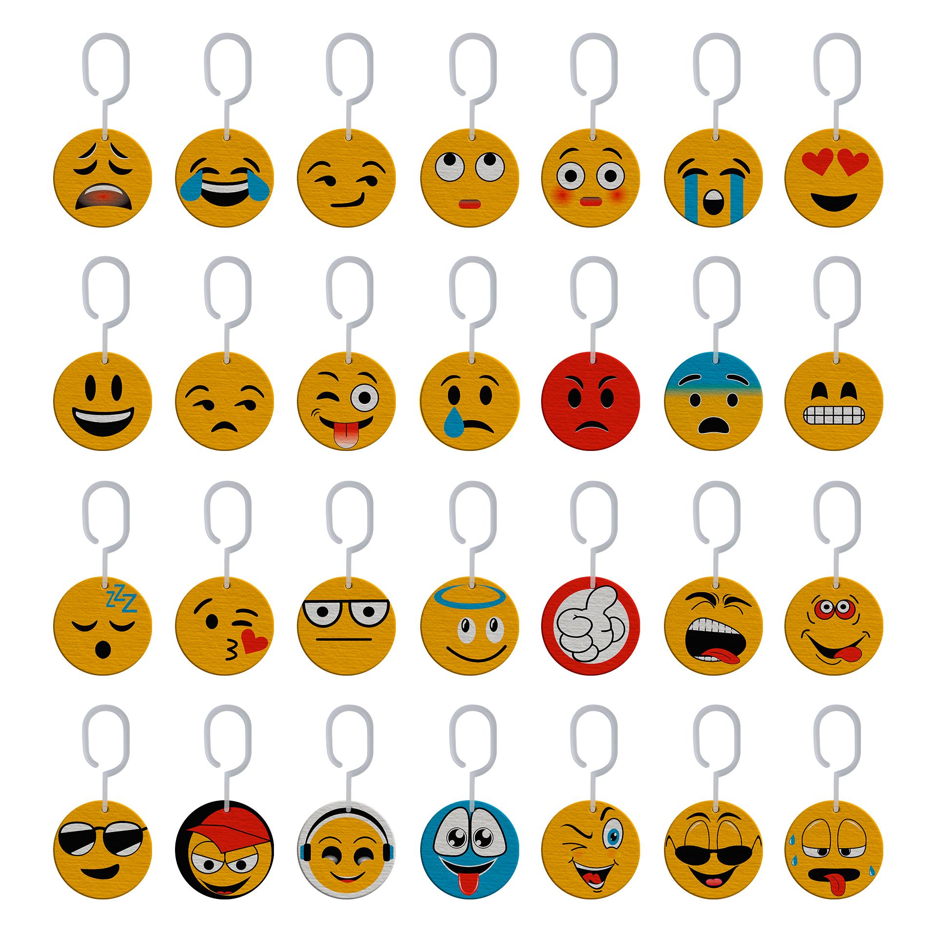 28 Frentes con Caritas Emojis